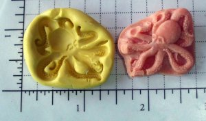 Octopus -  Silicone Mold Soap Cake Resin Plaster Candy