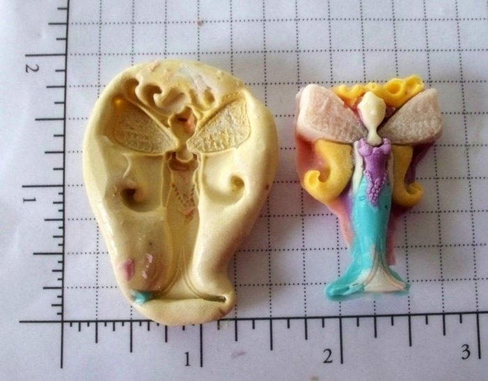 Fairy -  Soap Candy Cake Silicone Mold