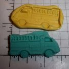 Firetruck- Soap Candy Silicone Mold