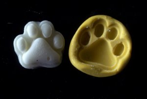 Paw  -Silicone Mold Soap Cake Candy Chocolate Chips
