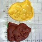 Dog A -Silicone Mold- Candy Cake Clay Cookies Crafts