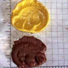Dinosaur -Silicone Mold- Candy Cake Clay Cookies Crafts