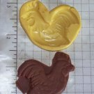 Rooster- Silicone Mold- Candy Cake Clay Cookies Crafts