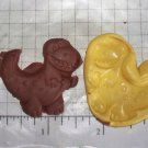 Dinosaur- Silicone Mold- Candy Cake Clay Cookies Crafts