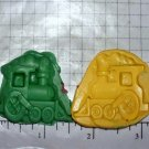 Train- Silicone Mold- Candy Cake Clay Cookies Crafts