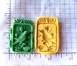 Bird- Silicone Mold- Candy Cake Clay Cookies Crafts