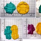 Toys Set- Candy Cake Crafts Clay Cookies- Silicone Mold