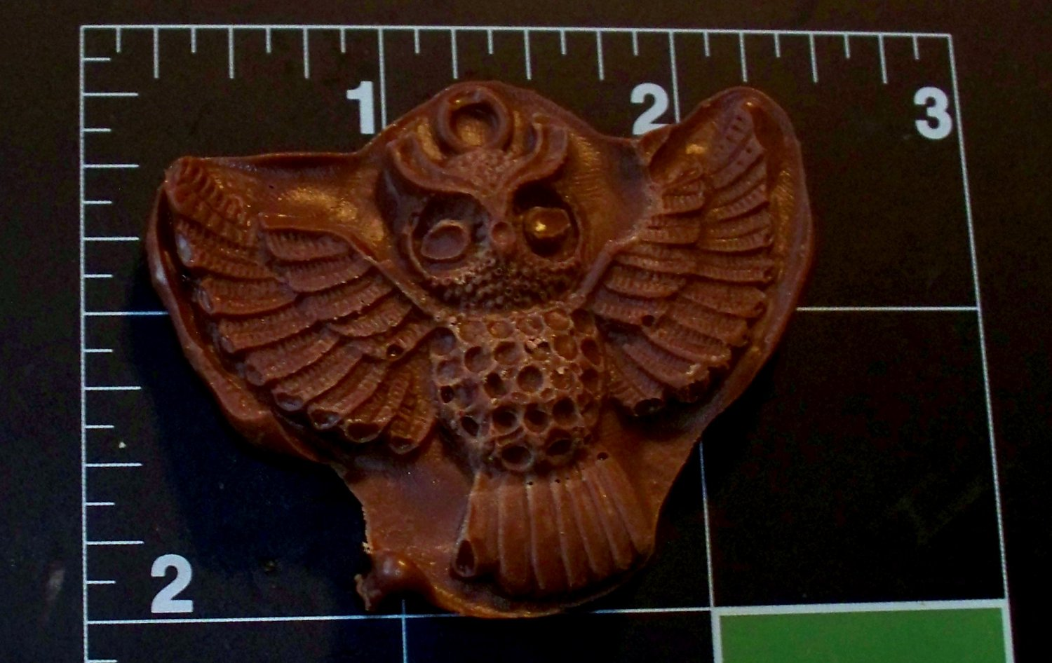 Owl in Flight-  Cake Candy Cookies Crafts-  Silicone Mold