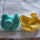 Swan with Ornate Design  -  Silicone Mold