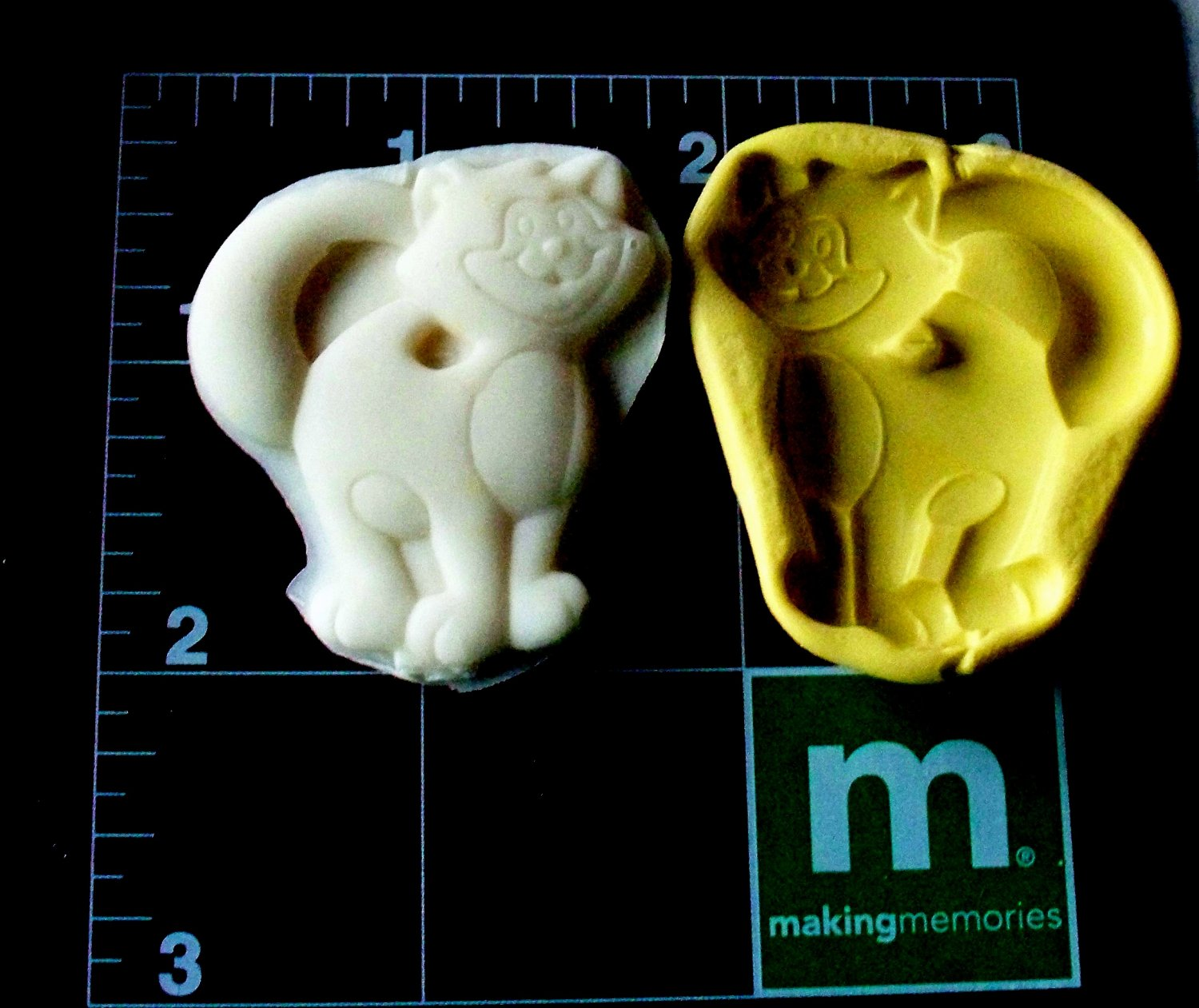 Cat -  Cake Candy Cookies Crafts-  Silicone Mold