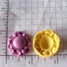 Design B-Silicone Mold Cookies Crafts Cake Candy