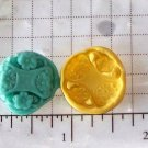 Design F-Silicone Mold Cookies Crafts Cake Candy
