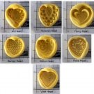Heart Set -   Silicone Molds