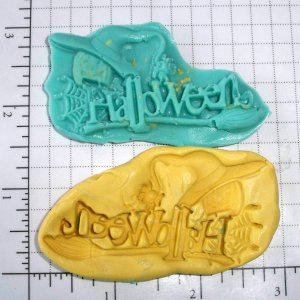 Halloween- Silicone  Mold - Fondant  Candy Plaster Cake Resin