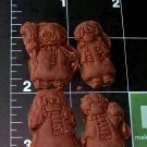 Wizards -  Silicone Mold- Cake Cookies Crafts Candy