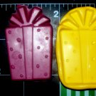 Birthday Party Gift - Silicone Mold-  Kids Candy Cake toppers Crayons Clay  Cookies Crafts