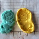 Lion - Safari Jungle Silicone Mold-  Kids Candy Cake toppers Clay  Cookies Crafts