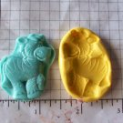 Zebra - Safari Jungle Silicone Mold-  Kids Candy Cake toppers Clay  Cookies Crafts