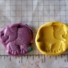 Elephant- Safari Jungle Silicone Mold-  Kids Candy Cake toppers Clay  Cookies Crafts