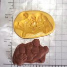 Dog Puppy- Silicone Mold-  Kids Candy Cake toppers Clay  Cookies Crafts