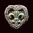 Large Heart -Flexible Push Silicone Mold-Candy Cake Clay  Cookies Crafts