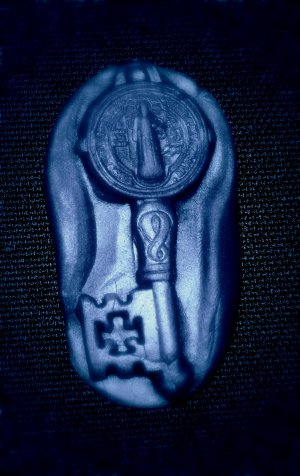 Holy Key -Flexible Push Silicone Mold-Candy Cake Clay  Cookies Crafts