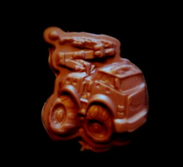 Construction Truck C3-  Candy Cake Crafts Cookies- Silicone Mold