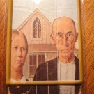 nail files by masterpiece American Gothic artwork Grant Wood package of 3 emery boards