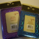purple and blue picture frames reflective padded vinyl easel back Intercraft NEW in package