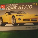 1995 Dodge Viper RT/10 model kit AMT ERTL 1/25 scale Skill Level 2 ages 8+ opened box