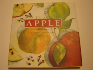 The Delectable Apple cookbook small hardcover isbn 0811805247 NEW colorful illustrations 72 pages