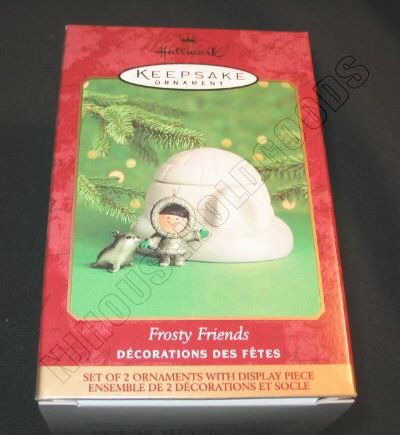 2000 Hallmark Keepsake Ornament Frosty Friends QX8524