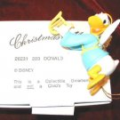 DISNEY Christmas Magic DONALD DUCK Ornament GROLIER 26231-203