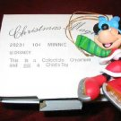 DISNEY Christmas Magic MINNIE Ornament GROLIER 26231-104