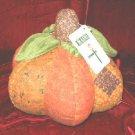 New Halloween Decor Fabric Stuffed Pumpkin Plush!