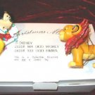 DISNEY Christmas Magic Mickey & Simba Ornament GROLIER 26231-101 & 26231-133
