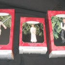 3pc Hallmark Ornament Star Wars Collector's Series Set