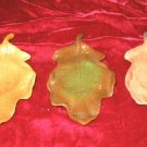 New Halloween Ceramic Candle Holder Fall Harvest Leaf