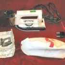 Mini Travel Clothes Steam Iron 120/240V w/Carrying Bag