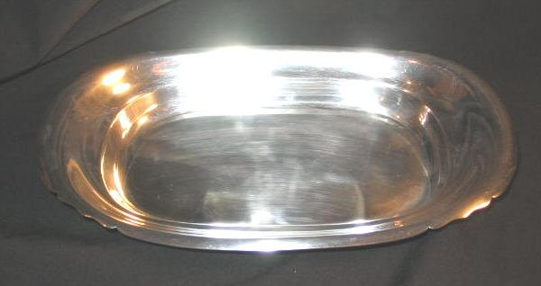 Reed & Barton Silverplate Mayflower Serving Tray Silver 5005