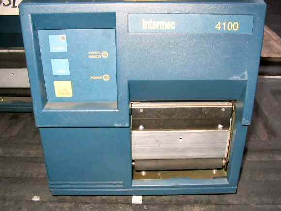 INTERMEC 4100 THERMAL TRANSFER BARCODE LABEL PRINTER