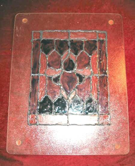 Nice Custom Stained  Art  Glass Decoration Stain