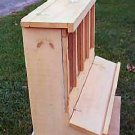 Solid Pine Art Craft Display Cabinet Toy
