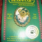 BESTEST MOM Boyds Bear Bearwear Mothers Day Pin 82502