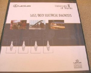 Lexus Univ of Toyota L652 Body Electrical Diagnosis