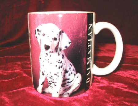 Very Cute Dalmatian Coffee Mug 101 Dalmation