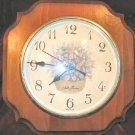 Vintage Seth Thomas Country Chic Wall Clock Shabby Pine USA
