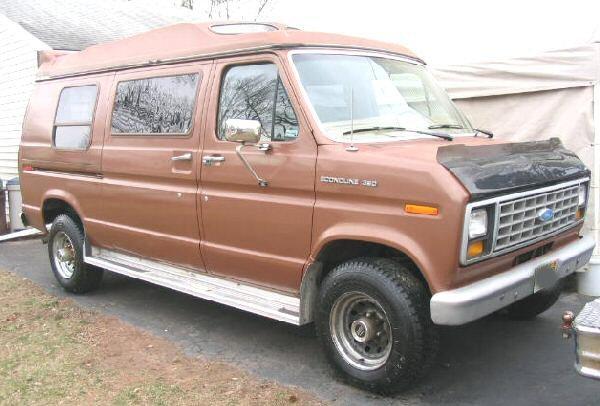 1985 Ford E350 Econoline 1 Ton Cargo Van 5.8L Hi-Top