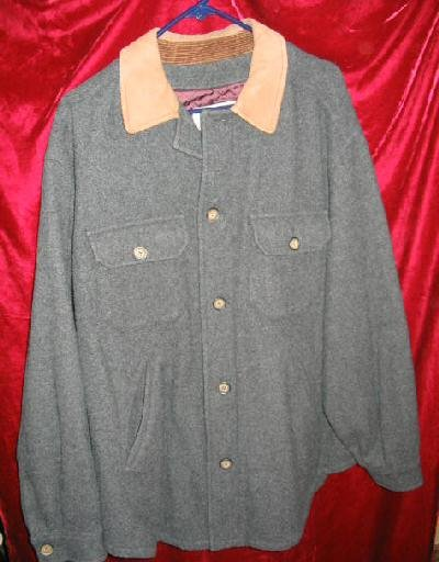 Nice Mens Aeropostale Wool Button Jacket Coat L