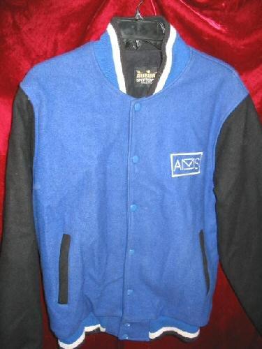 Vintage Mens Auburn Sportswear AMS Wool Jacket Coat M USA